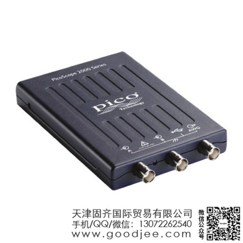 Pico Technology PicoScope 2000 系列 2通道 10MHz 数字示波器 PICOSCOPE 2204A
